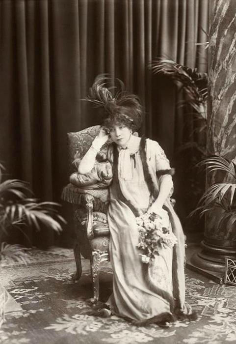 Сара Бернар - самая известная актриса конца 19-начала 20 вв. | Фото: liveinternet.ru.