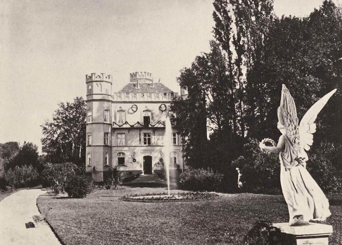Замок Берг на озере Штарнберг, 1886 год. | Фото: de.wikipedia.org.