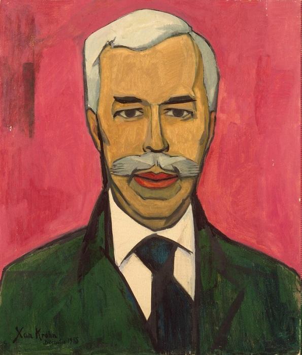 Портрет С. И. Щукина. Х. Крон. | Фото: beesona.ru.