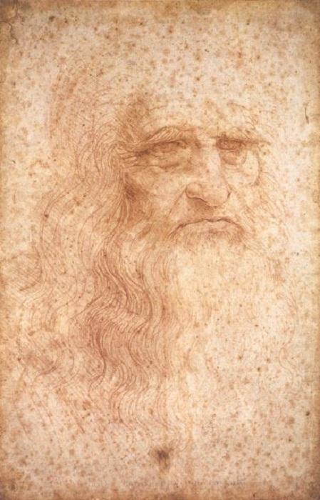 Леонардо да Винчи. Автопортрет. | Фото: thevintagenews.com.