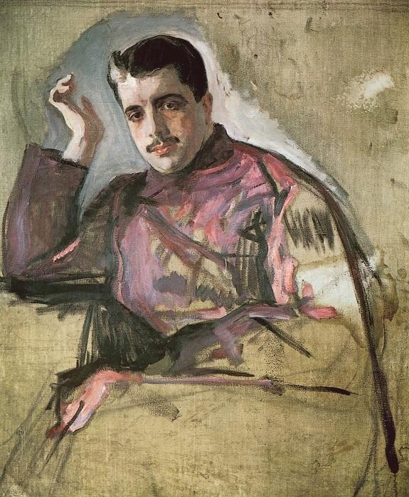Портрет Сергея Дягилева. В. Серов, 1904 год. | Фото: ru.wikipedia.org.