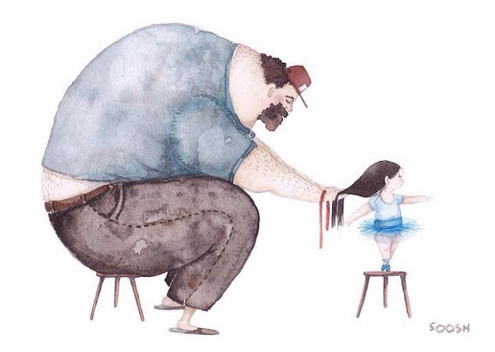 Иллюстрация от Снежаны Суш.