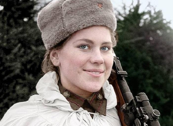 Советский снайпер Роза Шанина. | Фото: picturahistoria.com.