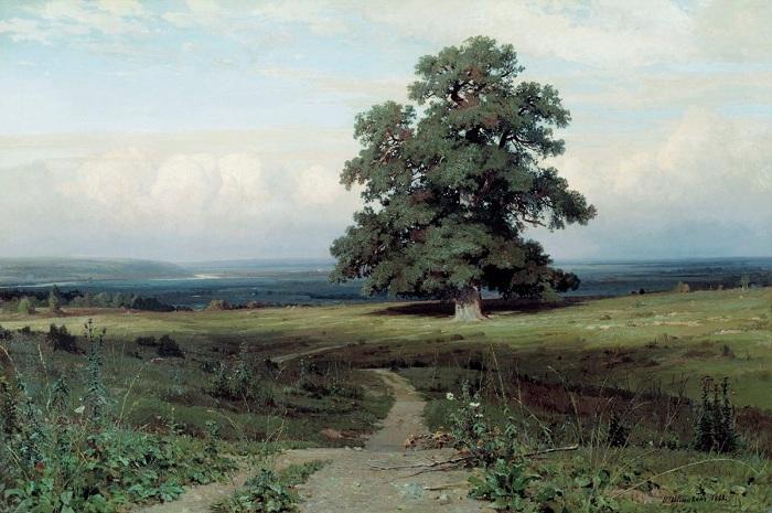 Среди долины ровныя. И. Шишкин. 1883. | Фото: allpainters.ru.
