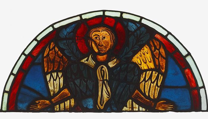 Серафим. Реймский готический собор. Ок. 1275-1299 гг. | Фото: khanacademy.org.