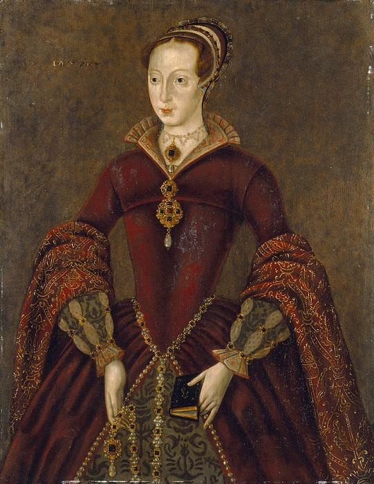 «Стретемский портрет»,<br>предположительно Джейн Грей. Копия 1590-х годов с утраченного оригинала. | Фото: ru.wikipedia.org.
