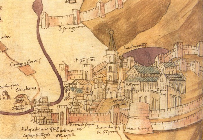 Древнее изображение Ватикана | Фото: hexapolis.com.