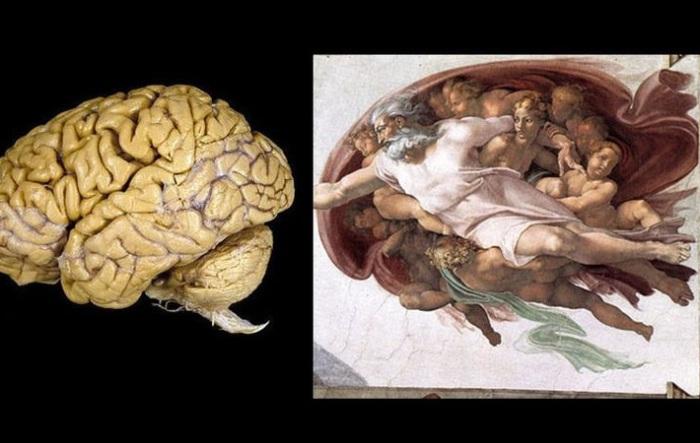 Сотворение Адама. Микеланджело. | Фото: hexapolis.com.
