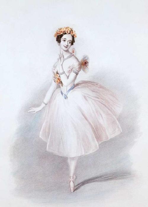 Мария Тальони - знаменитая балерина XIX века. | Фото: thevintagenews.com.