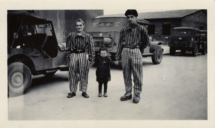 Юзеф Янек Шляйфштайн после освобождения Бухенвальда. | Фото: oursociety.ru.
