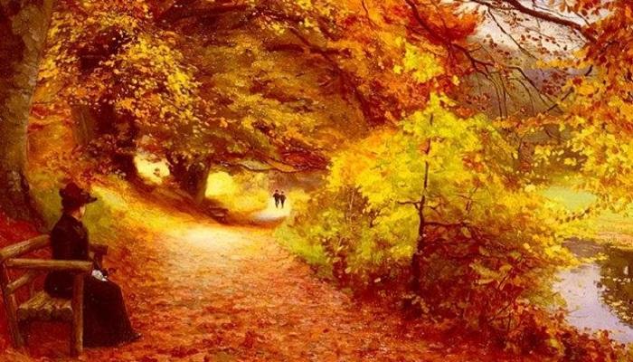 Осеннее очарование. | Фото: fiveminutehistory.com.