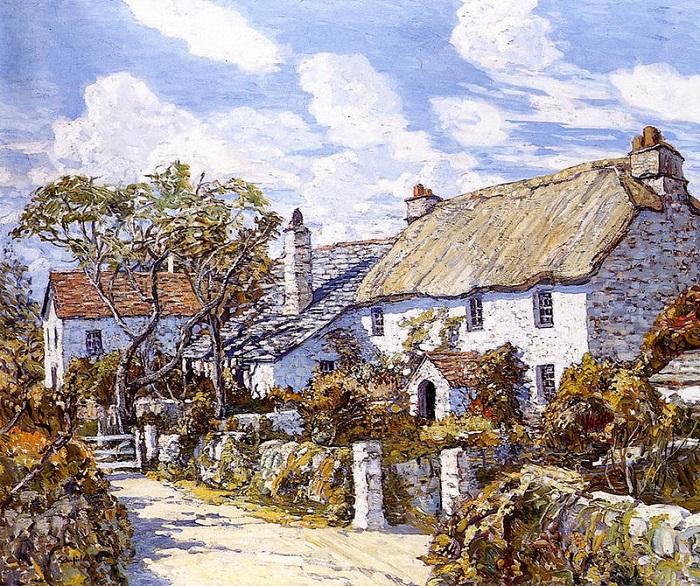 Осень в Корнуоле. Уолтер Скофилд. | Фото: fiveminutehistory.com.