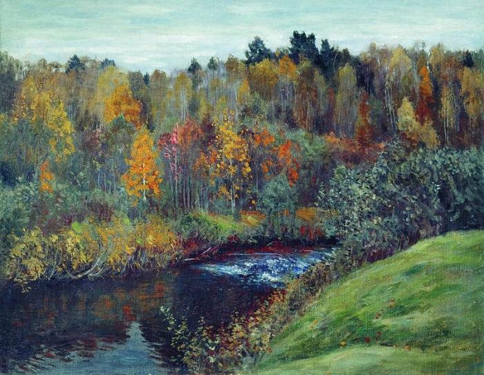 Осень. С. Жуковский. | Фото: fiveminutehistory.com.