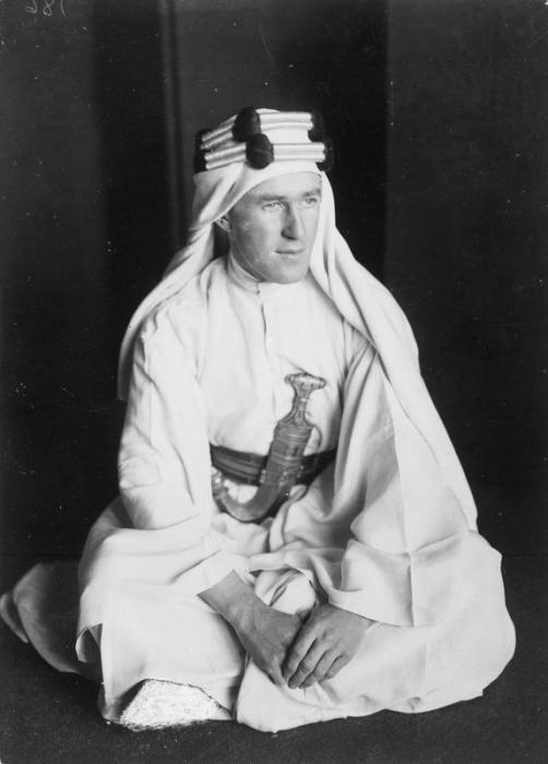 Лоуренс Аравийский - британский офицер и археолог.   Фото: upload.wikimedia.org.