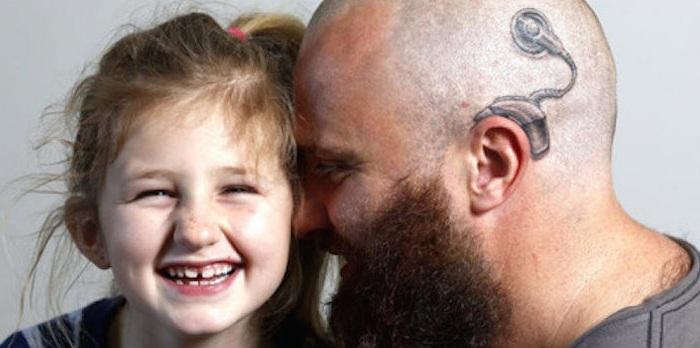 Alistair Campbell сделал татуировку ради своей дочери.