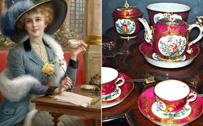 В Европе чай появился в XVI веке.