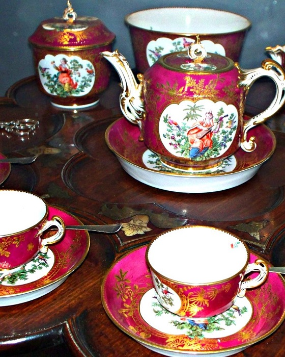 Чайный сервиз. | Фото: britainandbritishness.com.