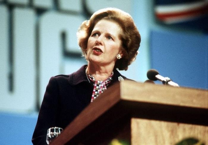 Маргарет Тэтчер - премьер-министр Великобритании в 1979-1990 гг.   Фото: media.magicnet.ee.