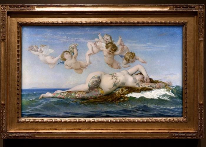 Рождение Венеры, Александр Кабанель, 1863 год.