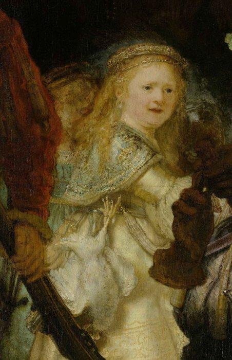 Загадочная девочка в жёлтом. | Фото: ru.wikipedia.org.