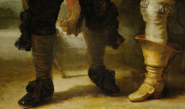 Форма тени от персонажей на картине указывает, что действие происходит в 2 часа дня. | Фото: ru.wikipedia.org.