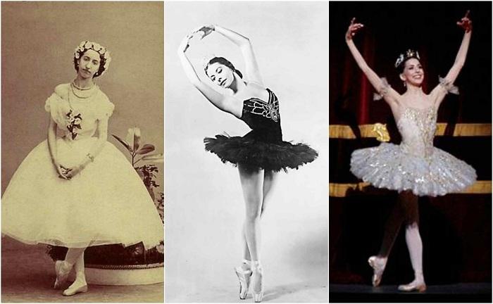 История балетной пачки. | Фото: thevintagenews.com.