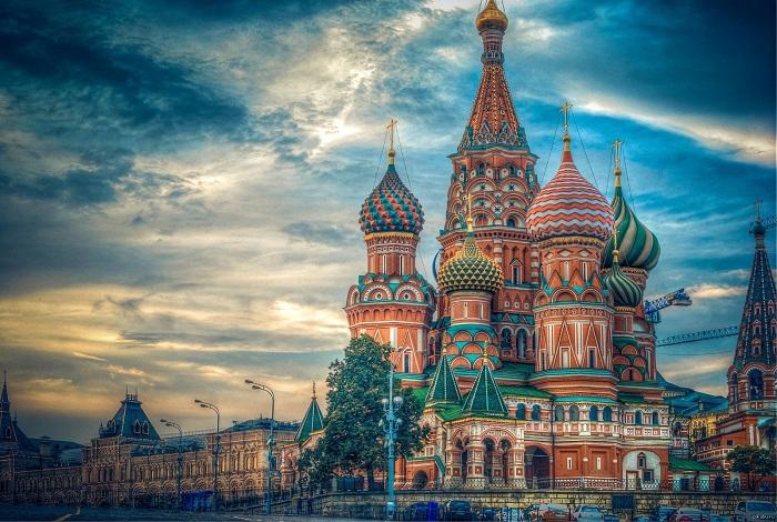 Собор Василия Блаженного. | Фото: s.pikabu.ru.