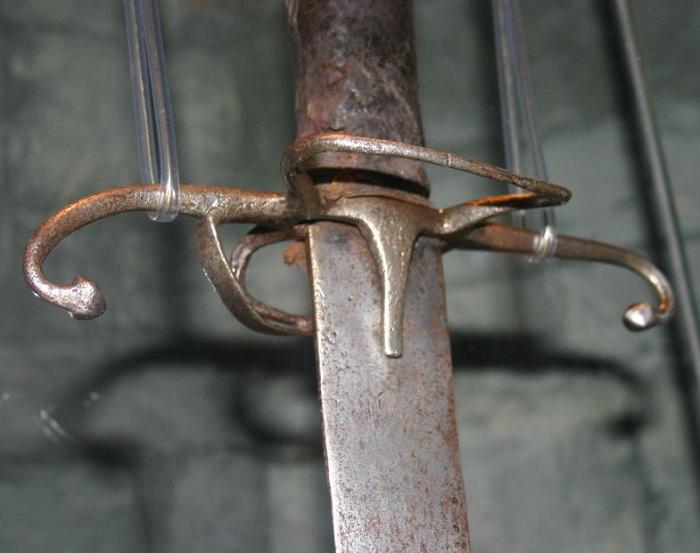 Подлинный меч Уильяма Уоллеса. | Фото: swordmaster.org.