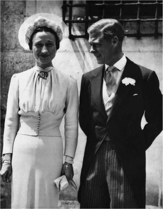 Свадьба Уоллис Симпсон и Эдуарда VIII. | Фото: 2.bp.blogspot.com.