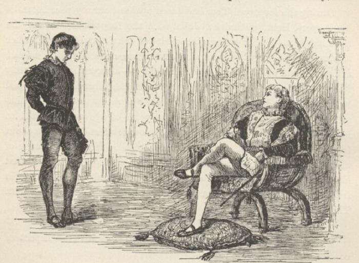 В Англии за шалости наказывали не принца, а мальчика для битья. | Фото: toptenz.net.
