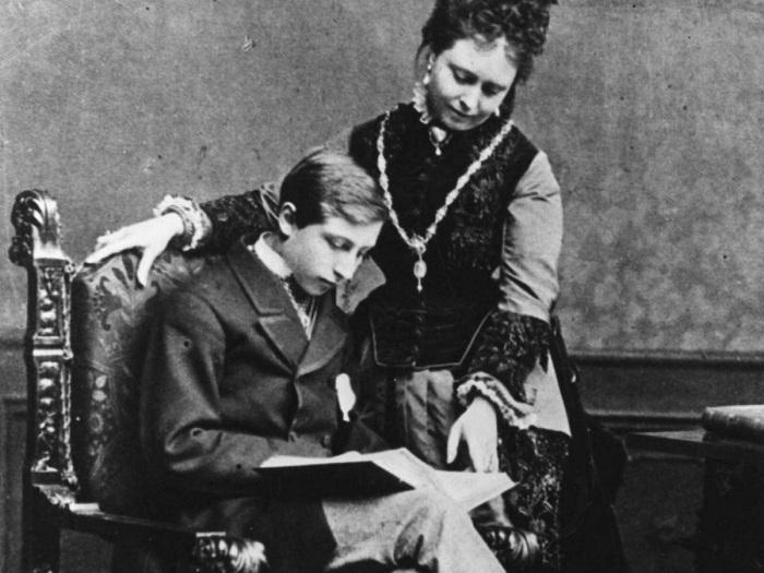Вильгельм II в юности. | Фото: allday.com.