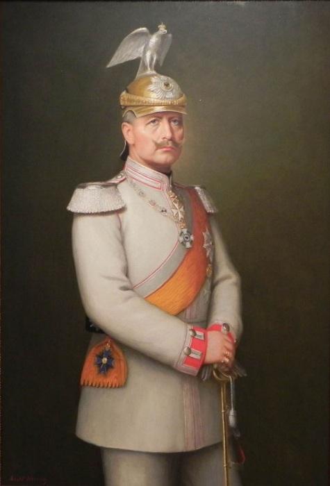 Последний император Германии Вильгельм II. | Фото: lemur59.ru.