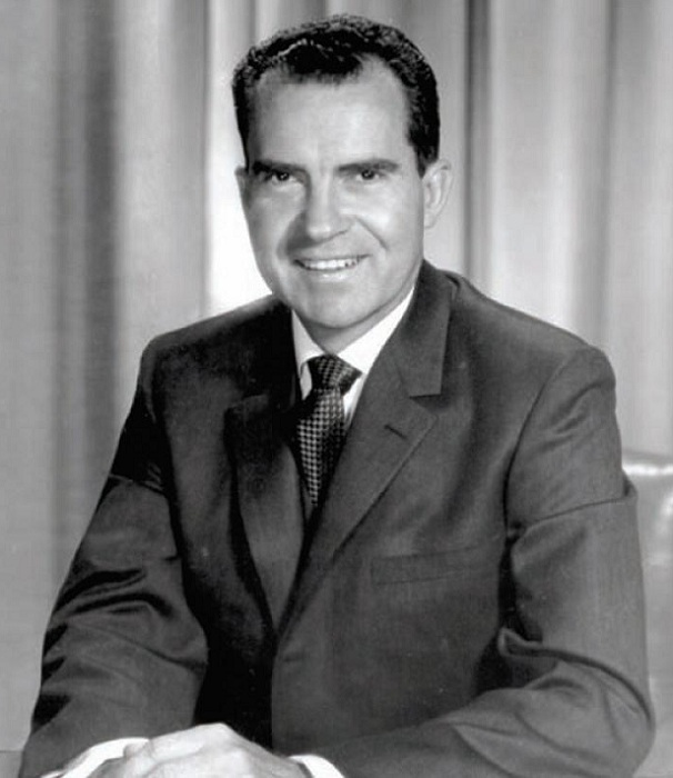 Ричард Никсон - 37-й президент США. | Фото: forexaw.com.