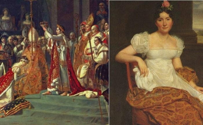 Стиль ампир, популярный в начале 19 века.