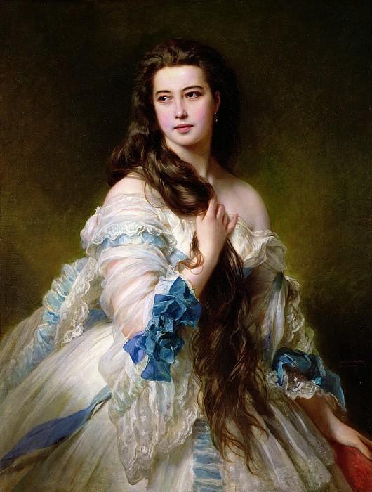 Портрет Варвары Дмитриевны Римской-Корсаковой. 1864 год.