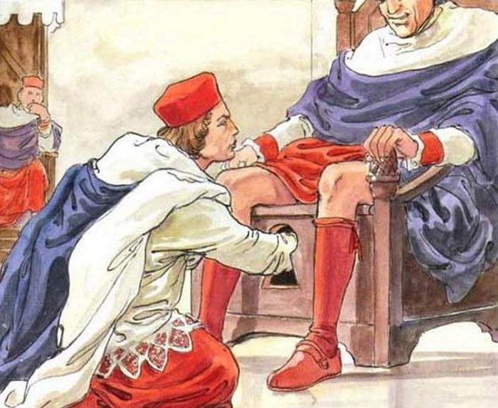 Процедура проверки папы на профпригодность.