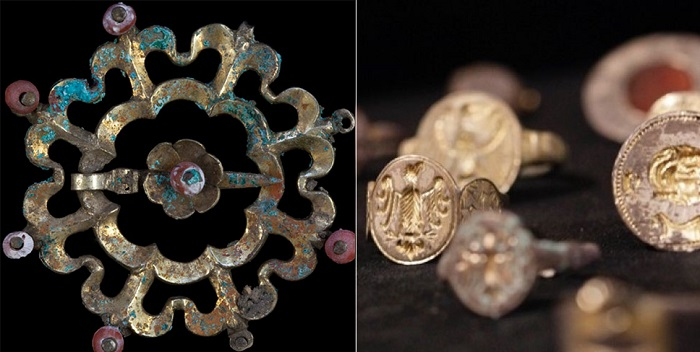 Найденые драгоценности, которым уже 650 лет. | Фото: oddee.com.