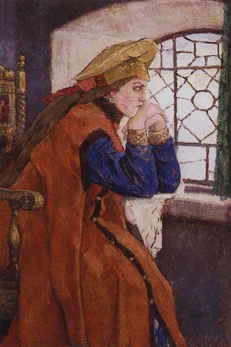 Анна Колтовская - четвертая жена Ивана Грозного.