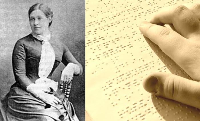 Анна Адлер - женщина, которая напечатала первое учебное пособие для слепых в России.