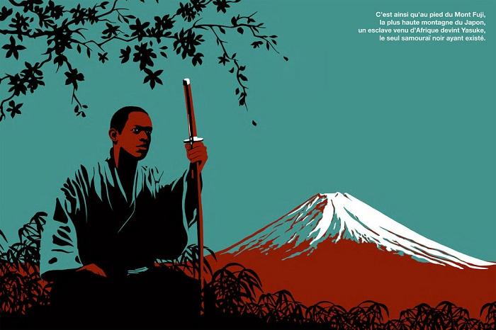 Ясуке - первый темнокожий самурай, живший в конце XVI века. | Фото: disgustingmen209.porno-for.com.