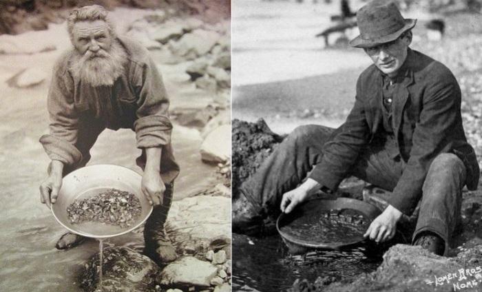 Случайно обнаруженное золото привело к возникновению золотой лихорадки.