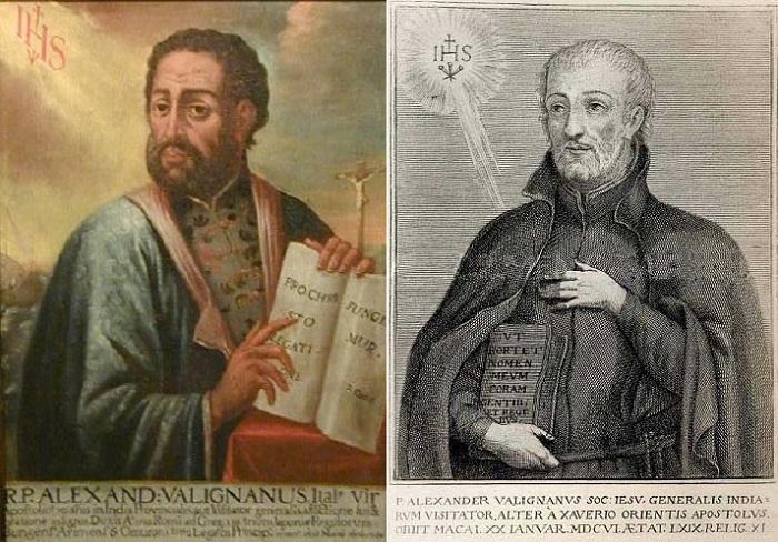 Итальянский иезуитский миссионер Алессандро Валиньяно.