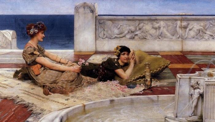 Служительницы любви. Лоуренс Альма-Тадема, 1891 год. | Фото: artchive.ru.