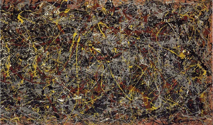 № 5. Джейсон Поллок, 1948 год. | Фото: therichest.com.