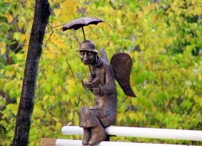 Памятник Петербургскому ангелу. | Фото: itd1.mycdn.me.