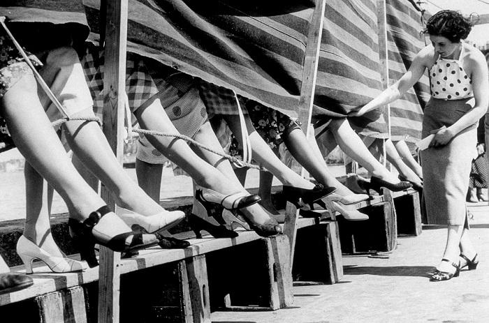 Конкурс «Самая красивая лодыжка». Начало 20 века.