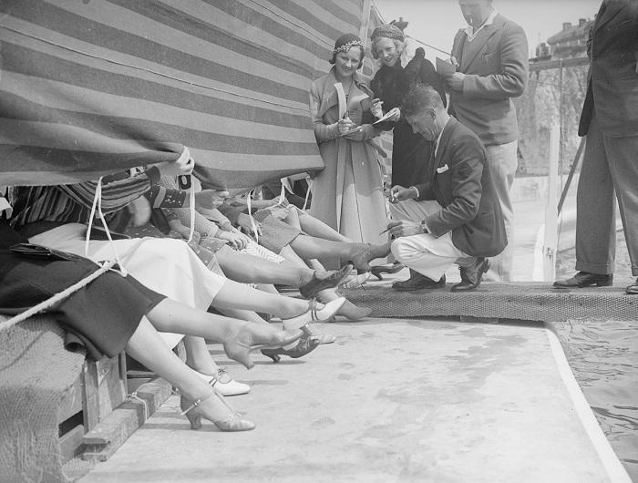 Ретро-снимок с Лондонского конкурса красоты 1933 года.