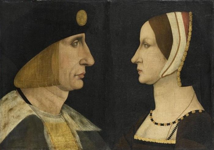 Портрет Карла VIII и Анны Бретонской.| Фото: frenchrenaissancecostume.com.