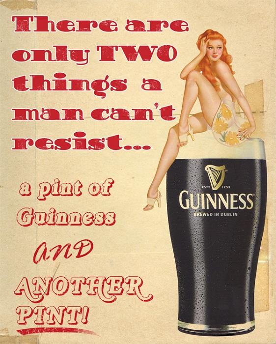 Реклама пива Guinness. | Фото: 3.bp.blogspot.com.
