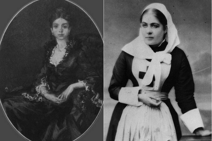 Юлия Вревская - баронесса - сестра милосердия.